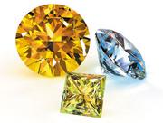 gezüchteten Diamanten